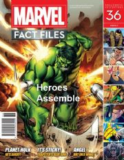 Marvel Fact Files #36 Eaglemoss Publications